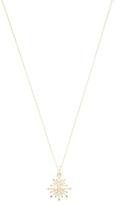 Artisan 18K Yellow Gold & 0.42 Total Ct. Diamond Star Pendant Necklace