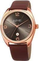 August Steiner Sunburst Effect Dial Watch, 43mm wide