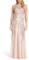 Adrianna Papell Women's Embellished Gown