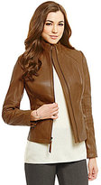 Antonio Melani Fine Leather Charlotte Quilted Jacket