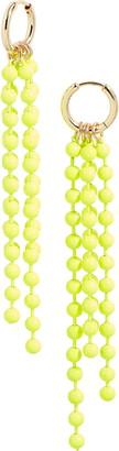 BP Ball Chain Linear Drop Earrings