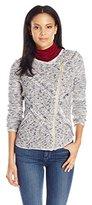 Lucky Brand Women's Fringe Sweater Jacket