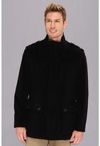 Cole Haan Italian Wool Military Jacket