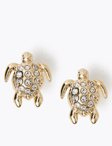 Marks and Spencer Sparkle Turtle Stud Earrings