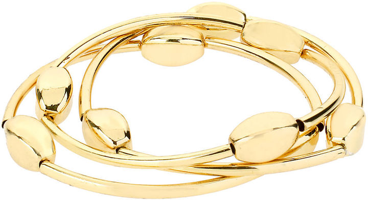 Kenneth Cole NEW YORK Gold-Tone Layered Bracelet