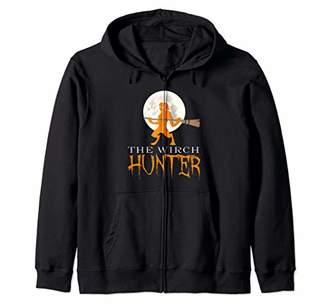 Hunter #wirchhunt Hunt Trump Halloween Costume Wirch Zip Hoodie