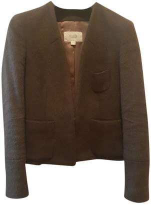 Mauro Grifoni Brown Wool Jacket for Women