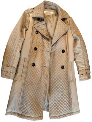 Kenneth Cole Beige Cotton Coat for Women