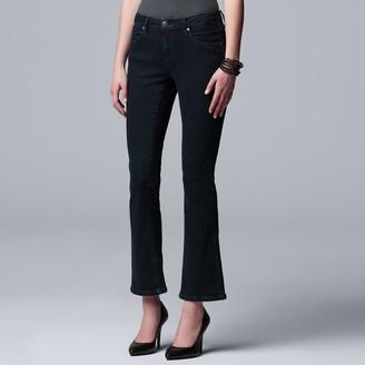 Vera Wang Women's Simply Vera Power Stretch Bootcut Jeans