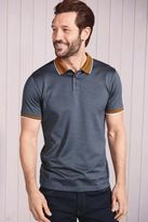 Next Mens Blue Short Sleeve Polo