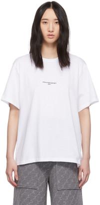 Stella McCartney White Logo T-Shirt