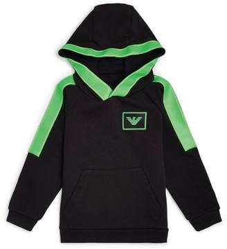 Emporio Armani Kids Colour-Block Hoodie