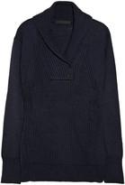 Alexander Wang Ribbed-front wool sweater