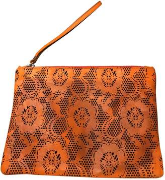 Christopher Kane \N Orange Leather Clutch bags