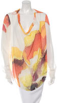 Haute Hippie Silk Printed Top