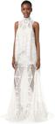 jonathan simkhai layered lace gown