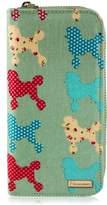 Kukubird New Girls / Ladies Large Chihuahua Poodle Pattern Purse Wallet