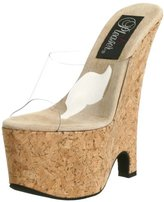 Pleaser USA Women's Beau-601 Sandal