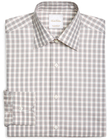 Brooks Brothers Large Check Woven Dress Shirt