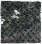 Valentino Garavani Valentino Camustars and floral scarf - men - Silk/Cashmere/Modal - One Size