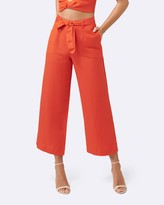Forever New Lizzie Linen Blend Pants