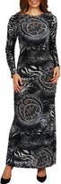 24/7 Comfort Apparel Maximum Effect Maxi Dress