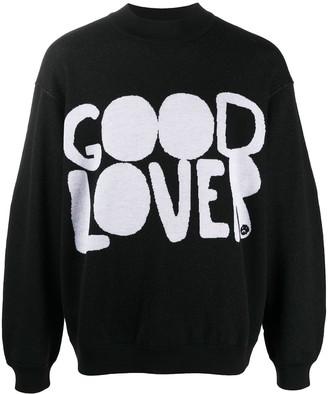 Valentino Good Lover intarsia jumper