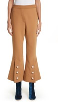 Ellery Women's Fourth Element Crop Flare Pants
