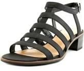 Franco Sarto Womens L-oriele Open Toe Casual Ankle Strap Sandals.