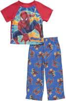 "Marvel Spider-Man Little Boys' Toddler ""Amazing"" 2-Piece Pajamas"