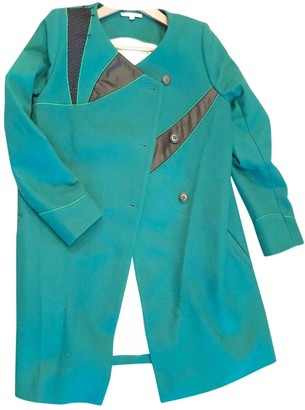 BA&SH Green Wool Coats