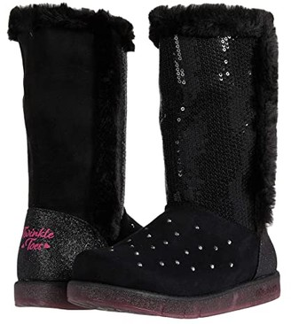 Skechers Glitzy Glam 314857L (Little Kid/Big Kid) (Black) Girls Shoes