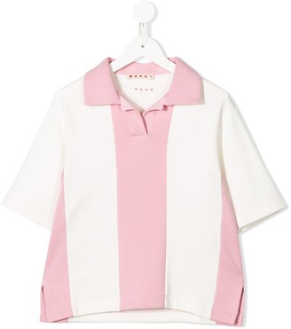 Marni Colour-Block Polo Shirt