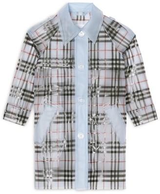 Burberry Kids Check Trench Coat (3-14 years)