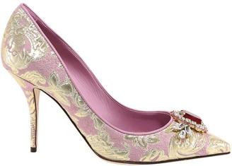Dolce & Gabbana Floral Brocade Pumps