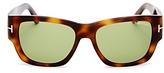 Tom Ford Stephen Square Sunglasses, 53mm