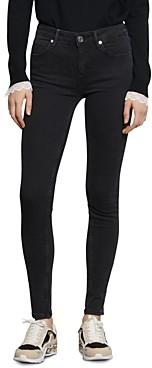 Sandro Pam Mid-Rise Skinny Jeans