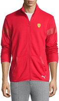 Puma Stand-Collar Sweater Jacket, Rosso Corsa