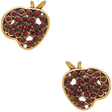 Marc Jacobs Charms Apple Stud Earrings
