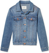 Jessica Simpson Embroidered Denim Jacket, Big Girls (7-16)