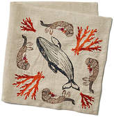 Coral & Tusk Coral Forest Linen Napkin