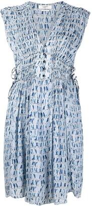 Etoile Isabel Marant Segun printed chiffon dress