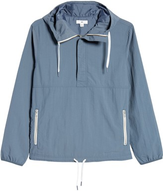 BP Cagoule Hooded Nylon Popover Jacket