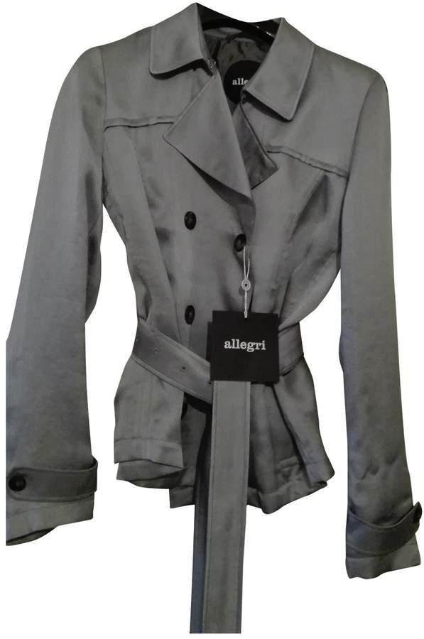 Allegri Grey Silk Jacket for Women
