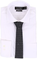 Lauren Ralph Lauren Slim Fit Stretch Non Iron Popin Estate Spread Collar Dress Shirt