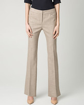 Le Château Stretch Viscose Blend Slight Flare Pant
