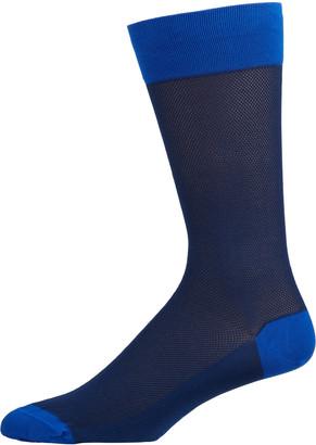 Marcoliani Milano Men's Cotton-Blend Crew Socks