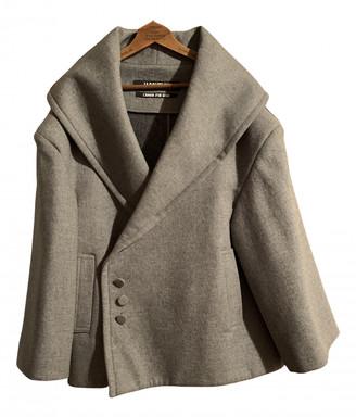 Jacquemus L'Amour d'un Gitan Grey Wool Coat for Women