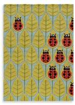 Momeni 'Lil Mo Whimsy 3-Foot x 5-Foot Lady Bug Area Rug