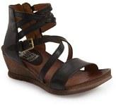 Miz Mooz Women's 'Shay' Wedge Sandal